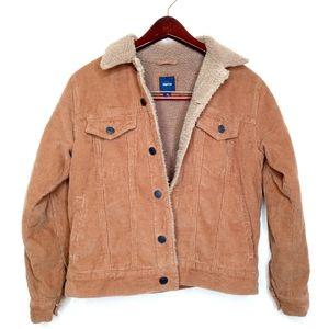 Gap Kids Corduroy Button Up Jacket